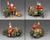 "XM017-02 ""GI Santa On A Motorbike"""