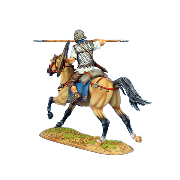 Imperial Roman Auxiliary Cavalry with | Hobby Bunker