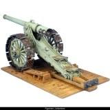 FL GW044 French 155mm 1877/1914 L de Bange Cannon