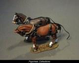 SUPPLY WAGON, HORSES