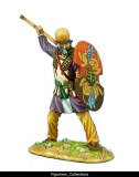Persian Warrior with Spear and Shield