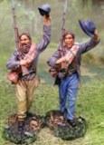 CSA Waving Two 2 figs