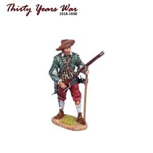 TYW016 Spanish Tercio Musketeer Ready