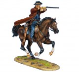Mounted Gunfighter with 1860 Henry Rifle