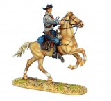 Mounted Gunfighter with Remington 1858 New Army Revolver