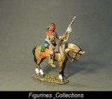 JJD RSF25A Mounted Woodland Indian