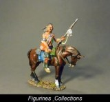 JJD Mounted Woodland Indian