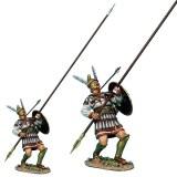 Macedonian Phalangite Wounded