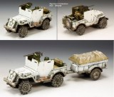 BBA050 US Armored Jeep (Winter Version)