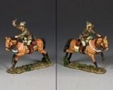 AL094 Australian Light Horse Officer w/ Pistol