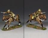 AL097 Australian Light Horse Trooper Charging w/Bayonet