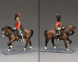 CE029 Mounted Black Watch Officer PRE ORDER