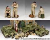 DD301 British Dismounted AFV (Armoured Fighting Vehicle) Crew Set #1