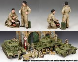 DD302 British Dismounted AFV (Armoured Fighting Vehicle) Crew Set #2