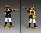 FW243 Prussian Line Infantryman Standing Firing