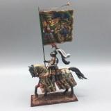 Knight from Maximilian's Triumph w/Flag