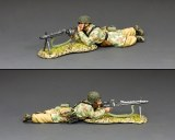 LW074 Fallschirmjager MG42 Machine Gunner