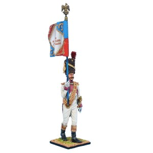 NAP0642 Old Guard Dutch Grenadier Standard Bearer