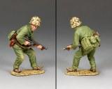 USMC035 Crouching Tommy-Gunner