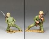 USMC038 Kneeling BAR Gunner
