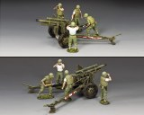 VN075 The USMC Artillery 105mm Howitzer & Crew Set