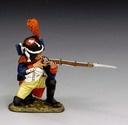 NA153 Guard Kneeling Firing RETIRE / RECONDITIONNE