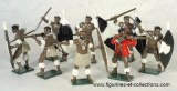 Zulus Married Regiments Toy Soldiers Set 402
