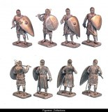 Crusaders Standing with Hand Weapons