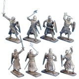 Crusader Knights with Hand Weapons