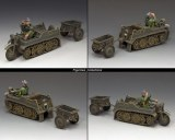 WH023 Sd.KFz.2 Kettenkrad and Trailer PROMO 22%