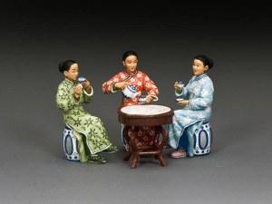 KC HK295M The Chinese Ladies 'Tea Set (MATT)