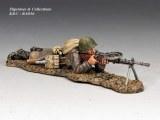 Lying Prone Machine Gunner