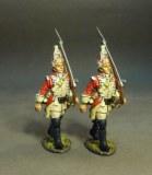 Grenadiers, Marching