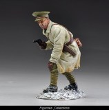 TG GW033B British Officer in Trench coat with pistol.