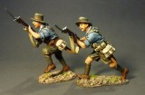 ANZACs Charging - Blue Shirts