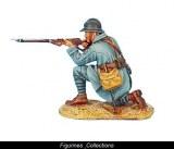 French Infantry Kneeling Firing