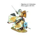 Mounted Kingdom of Jerusalem Knight Falling
