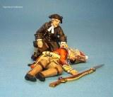 aumonier Philip Hughes avec blesses Grenadier