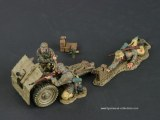 TG SS001-B 7.5cm Infantry Gun & Crew - Tropical 150 EX.