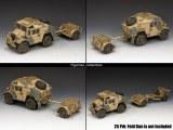 EA085 Desert Quad Gun Tractor - Limber