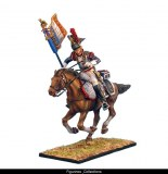 French 5th Cuirassiers Standard Bearer Charging