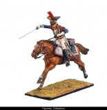 FL NAP0246 French 5th Cuirassiers Trooper Charging RETIRE