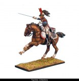 FL NAP0247 French 5th Cuirassiers Trooper Charging RETIRE