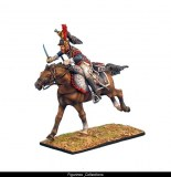 FL NAP0248 French 5th Cuirassiers Trooper Charging RETIRE