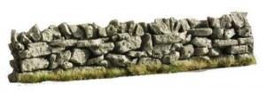 6 straight dry stone wall