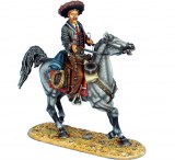 Mounted Mexican Gunfighter with 1860 Henry Rifle