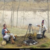 French Infantry Cooking