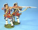 JJD BJ01 British 4th Reg. Of Foot, Firing (2pcs)