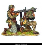 FL NOR016 Waffen. Panzer Grenadier MG42 Team PRE ORDER