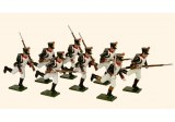 French Line Infantry Fusiliers Running